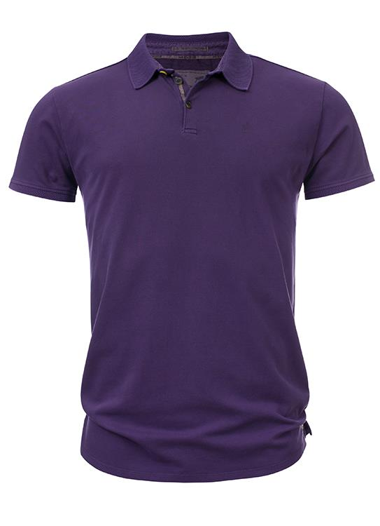 No Excess Polo Pique Stretch