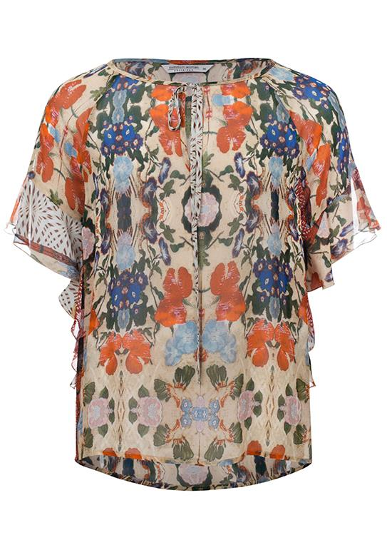 Summum T-Shirt SS Flower