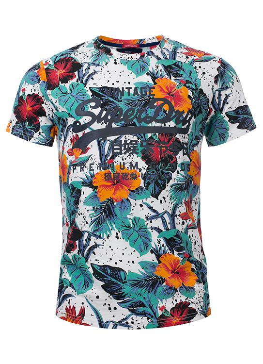 Superdry T-Shirt Flowers