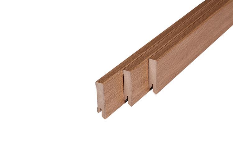 118 MDF Muurplint Harvester Oak (15 x 60 mm. Lengte: 240 cm)