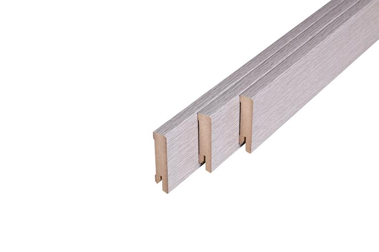 146 MDF Muurplint Boulder Oak (15 x 60 mm. Lengte: 240 cm)