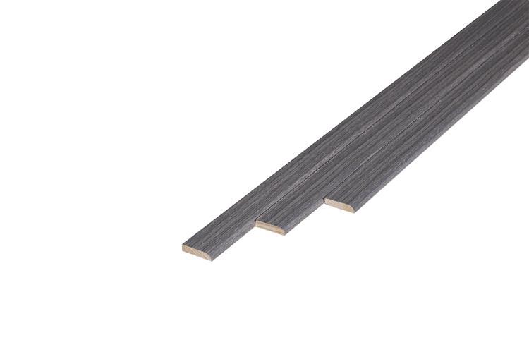 160 Plakplint Bedrock Oak (5 x 24 mm. Lengte: 240 cm)