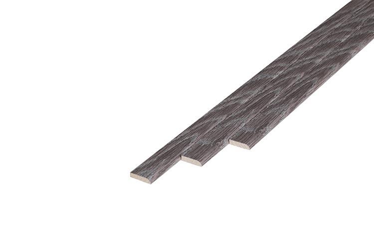 170 Plakplint Studio Oak (5 x 24 mm. Lengte: 240 cm)