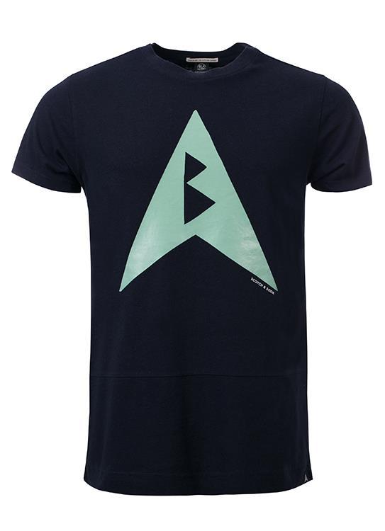 Amsterdams Blauw T-Shirt Boxy