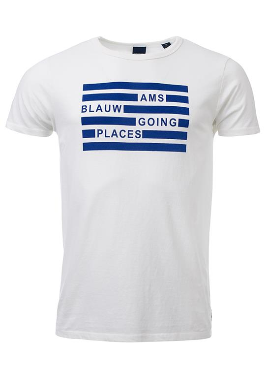 Amsterdams Blauw T-Shirt Simple