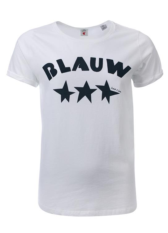 Amsterdams Blauw T-shirt Roll Up