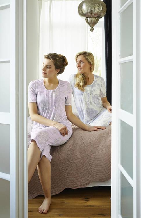 Ringella pyjama met capribroek Lila