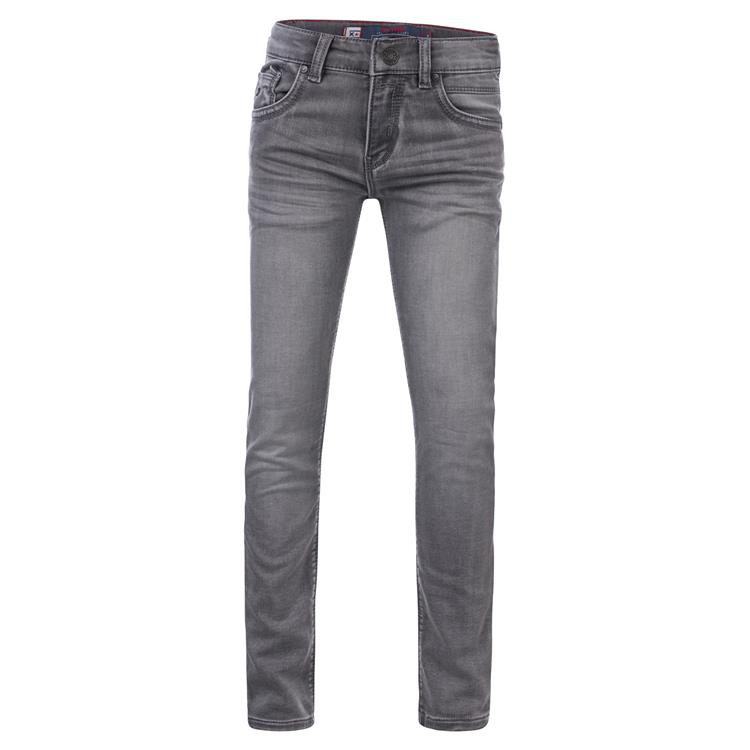 Blue Rebel MINOR - Grey wash - skinny fit jeans  - dudes