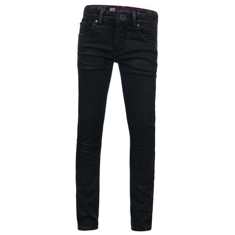 Blue Rebel MINOR - Black wash - skinny fit jeans  - dudes