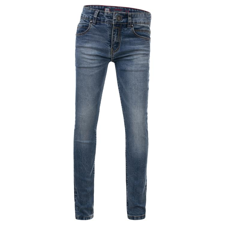 Blue Rebel SOLDER - Ounch wash - skinny fit jeans  - dudes