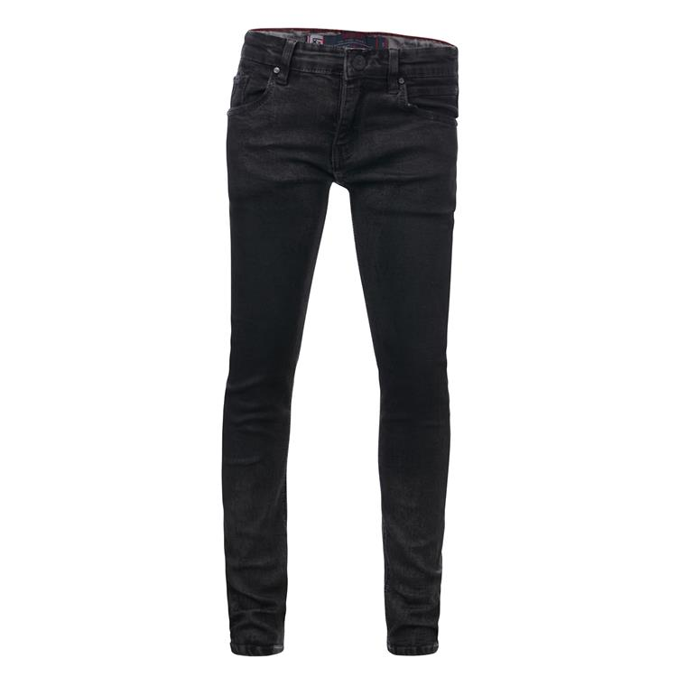 Blue Rebel CAVE - Grey wash - skinny fit jeans  - dudes