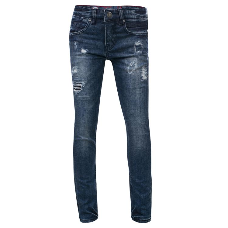 Blue Rebel SOLDER - Cycloon wash - skinny fit jeans  - dudes