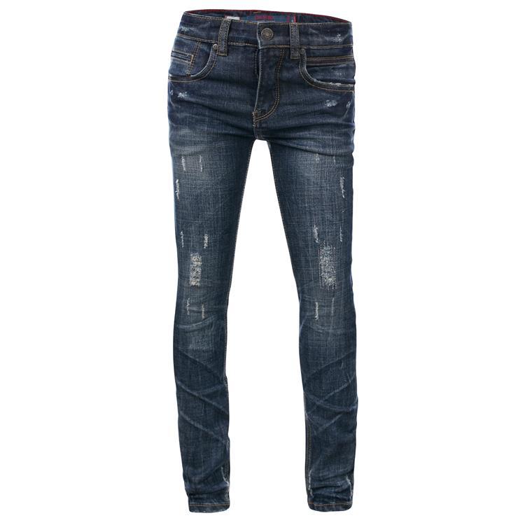 Blue Rebel SOLDER - Deep sea wash - skinny fit jeans  - dudes