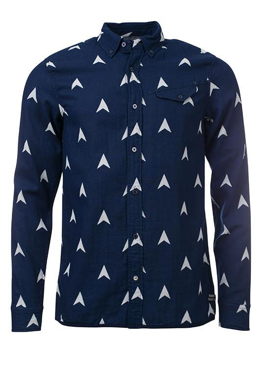 Amsterdams Blauw Overhemd Weaves
