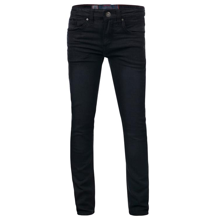 Blue Rebel MINOR - Black - skinny fit jeans  - dudes