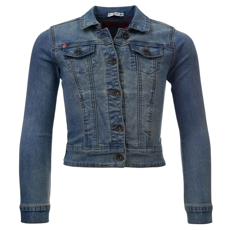 Blue Rebel GROUPY - Ounch wash - jeans jacket - betties - girls jeans jacket