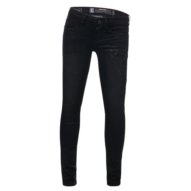 Blue Rebel COPAL - Black wash - ultra skinny fit jeans  - betties