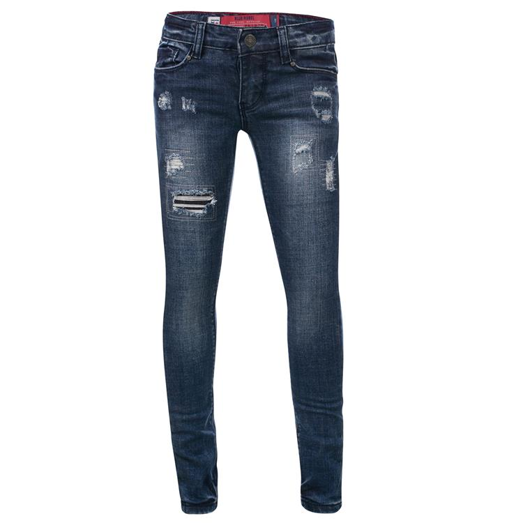Blue Rebel PYRIET - Cycloon wash - ultra skinny fit jeans  - betties