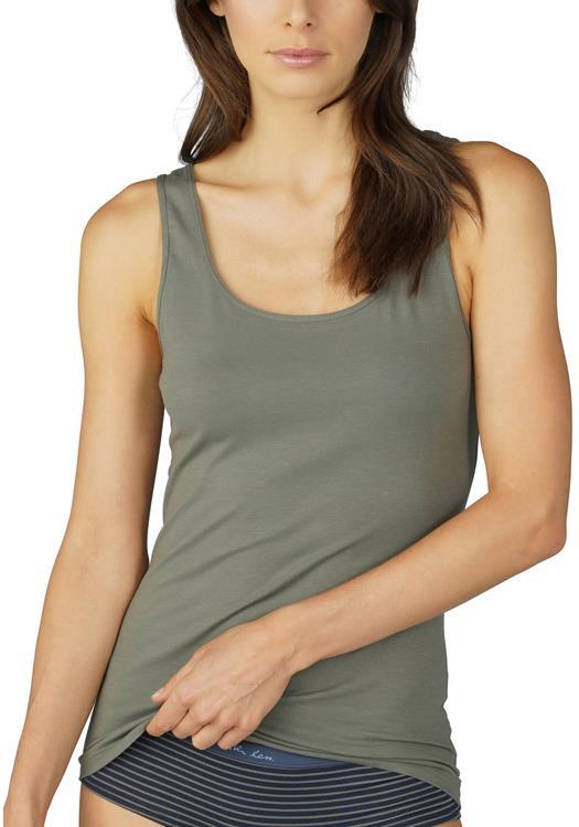 Mey top met brede schouderbandjes Cotton