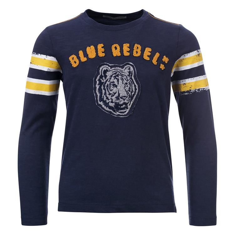 Blue Rebel SPOT ON - T-shirt long sleeve - Ink - dudes