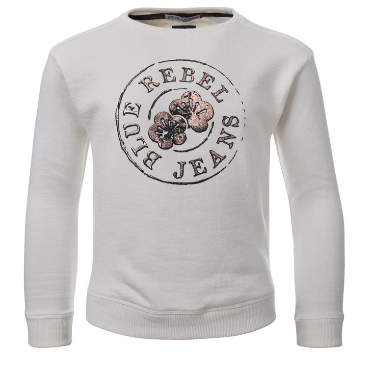 Blue Rebel SPOT ON - sweater crew neck - Off white - betties