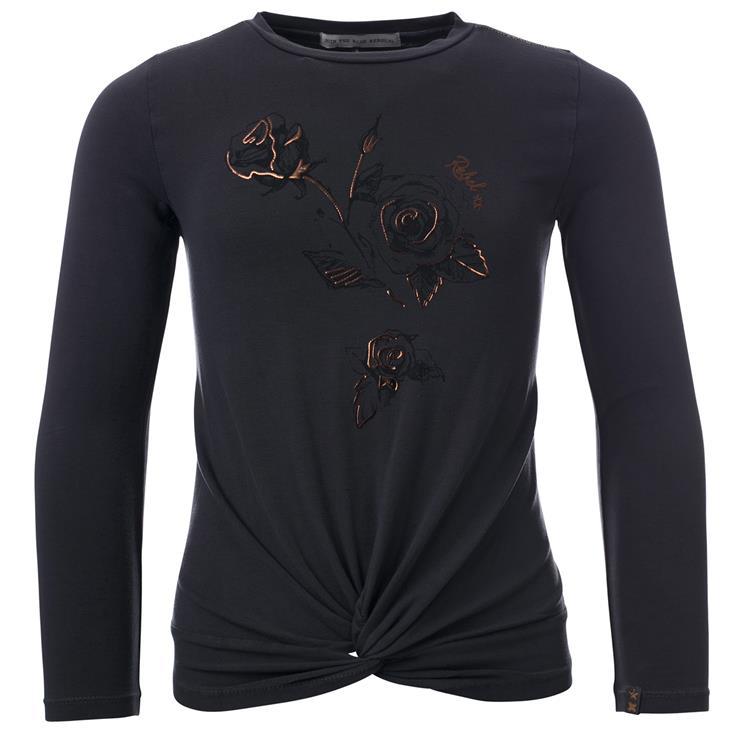 Blue Rebel SPOT ON - T-shirt long sleeve - Dark grey - betties