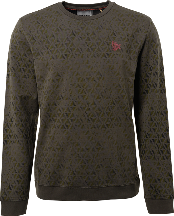 No Excess Sweater Printed Stretch