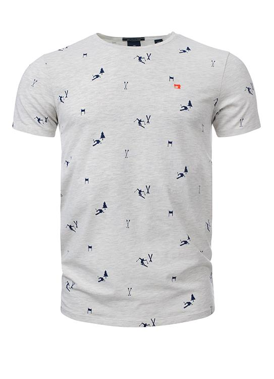 Scotch & Soda  T-Shirt SS Crew