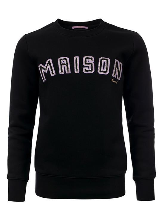 Maison Scotch Sweater Patched