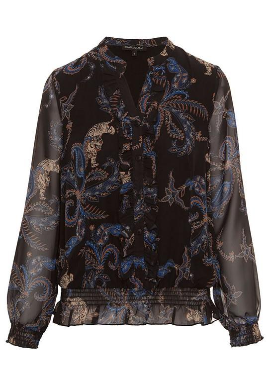 Tramontana Blouse Ornamental Tiger Ruf