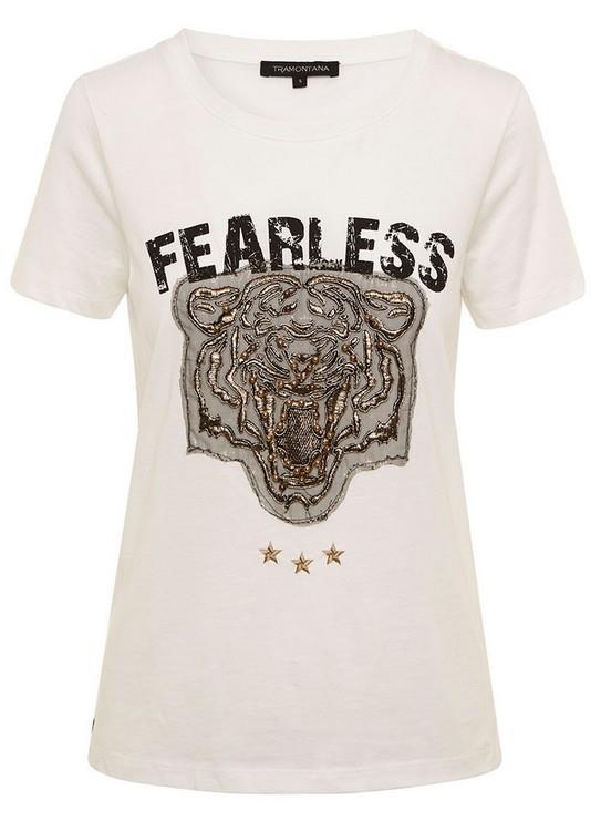 Tramontana T-shirt SS Tiger Fearless