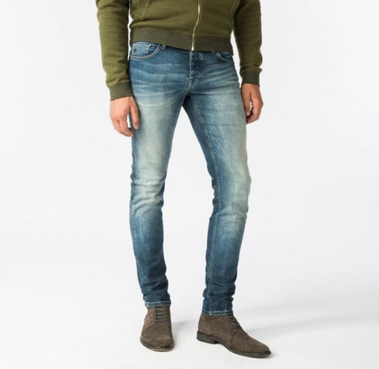 Cast Iron Jeans Riser Slim