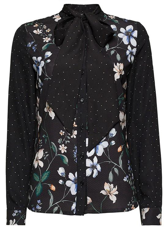 Tramontana Blouse Flower Dot