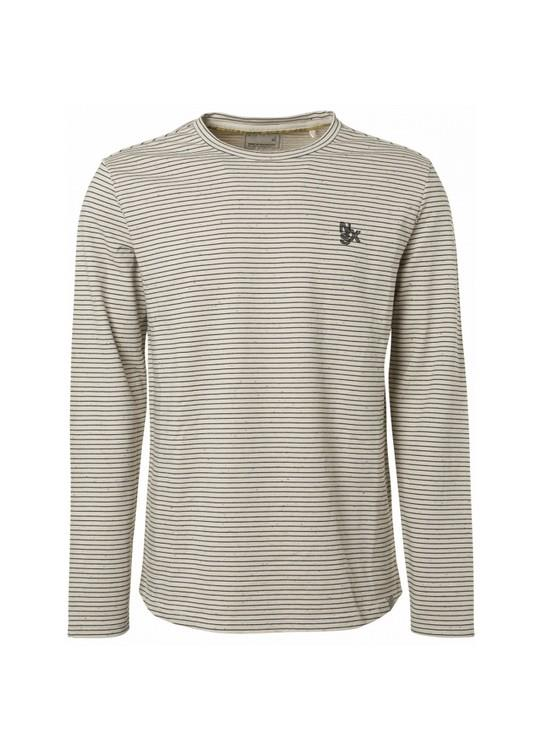 No Excess Sweater Looper Stripes