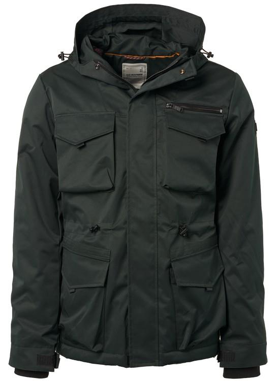 No Excess Jack Hooded Camouflage
