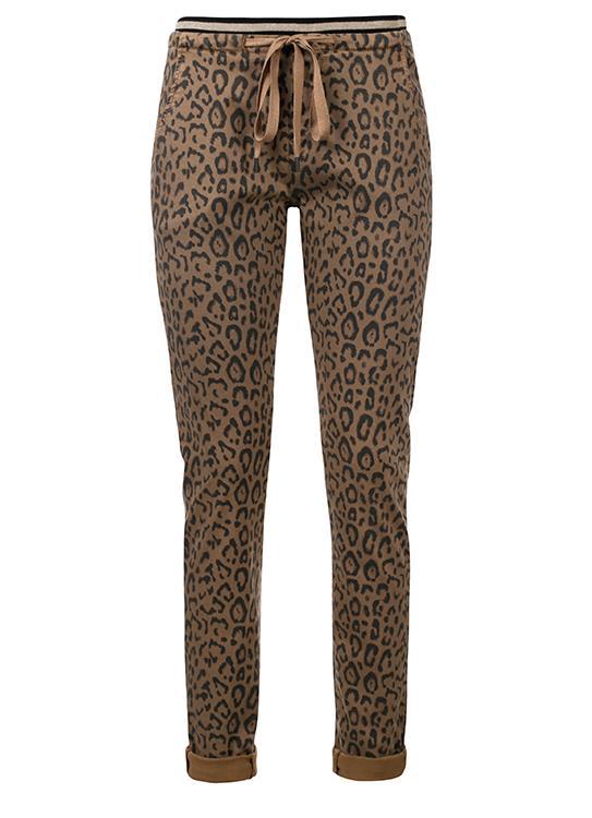Summum Broek Leopardprint