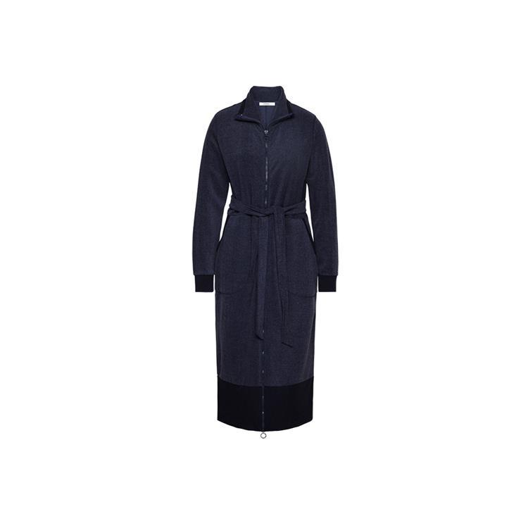 Cyell badjas lange mouw Peluche Navy