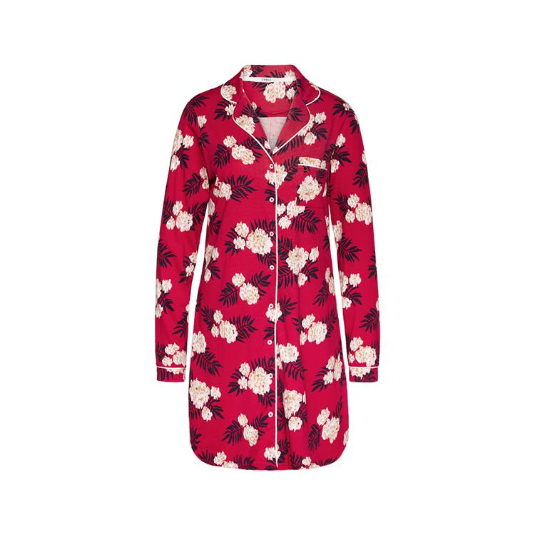 Cyell jurk lange mouw Fleur Rouge