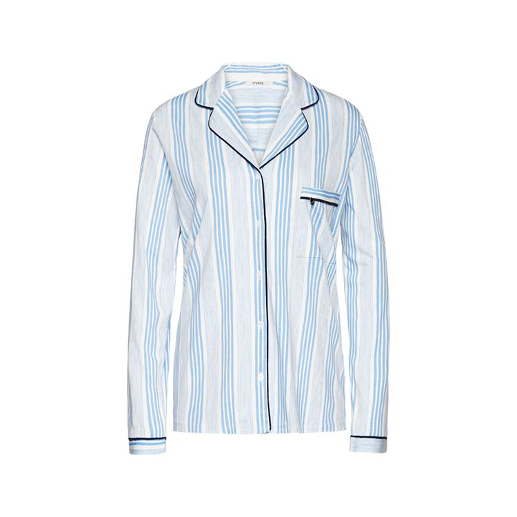 Cyell shirt lange mouw Mixed Stripe