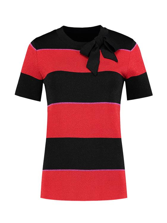 Nikkie T-Shirt Stripe Bow