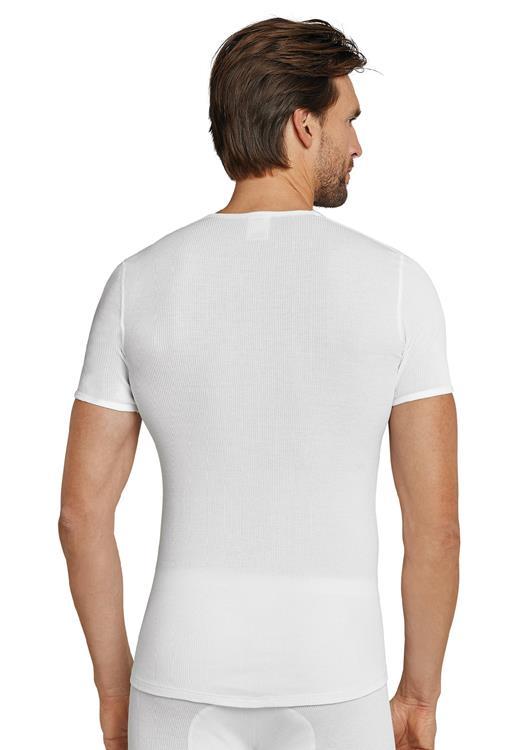 Schiesser doppelripp shirt met korte mouw
