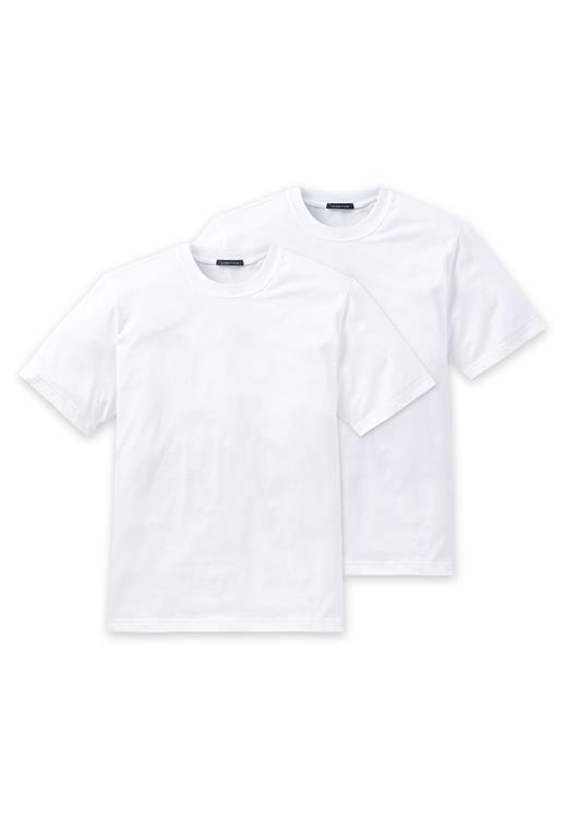 Schiesser American T-shirt met ronde hals 2-pack