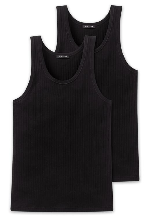 Schiesser Authentic singlet 2-pack