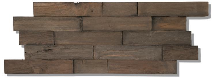 Indo Deco Wall Teak - Charred