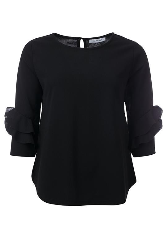 In Shape Blouse Fancy Sleeve