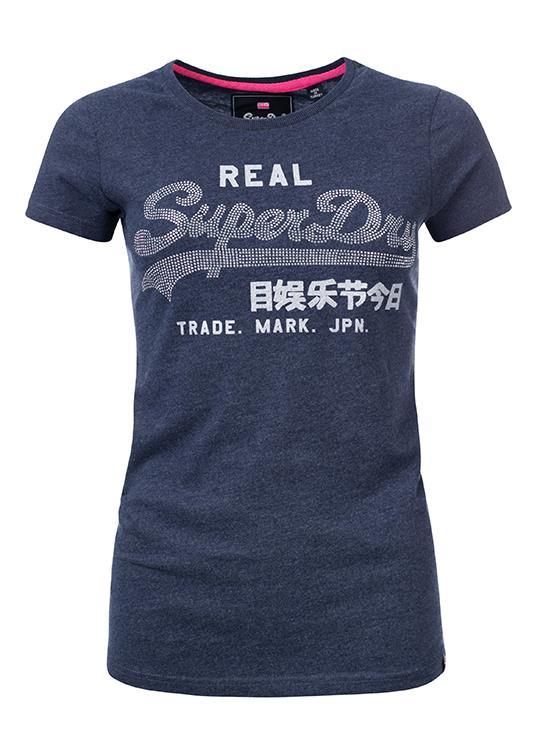 Superdry T-Shirt Rhinestone