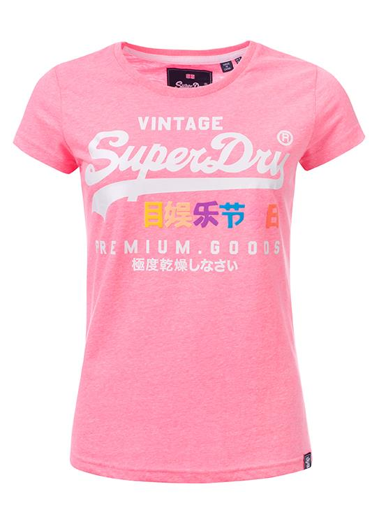 Superdry T-Shirt Puff