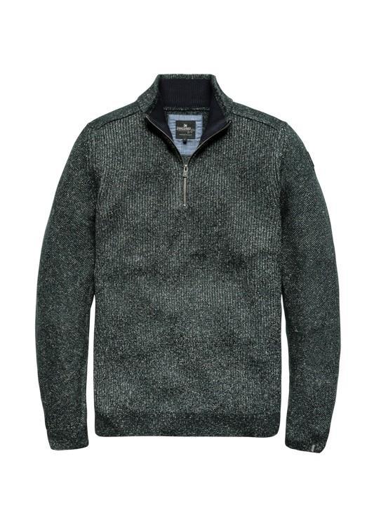 Vanguard Trui Zip Cotton Blend