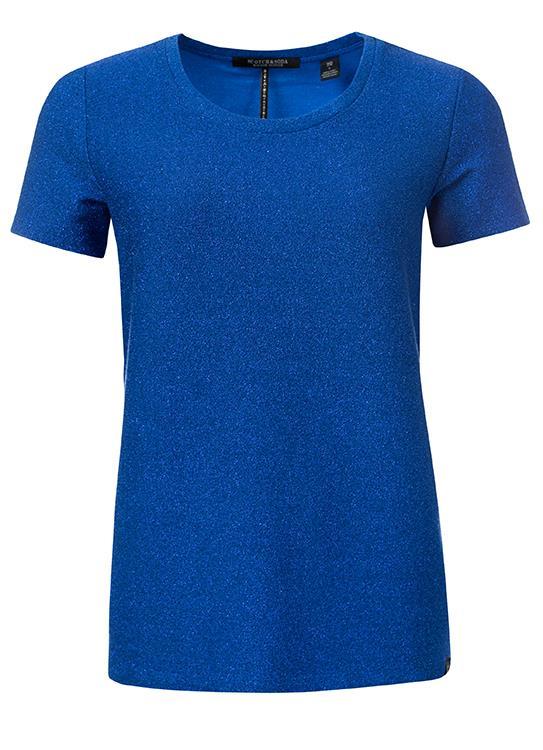 Maison Scotch T-shirts ss Lurex