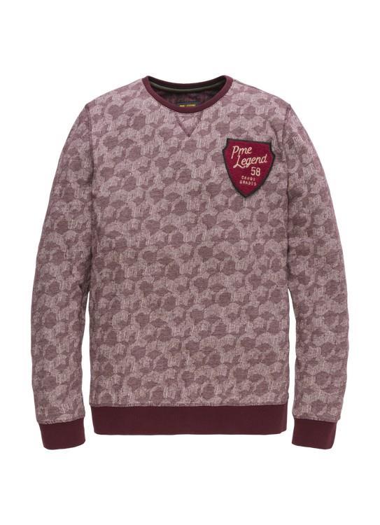 PME Legend T-Shirt LS Jacquard